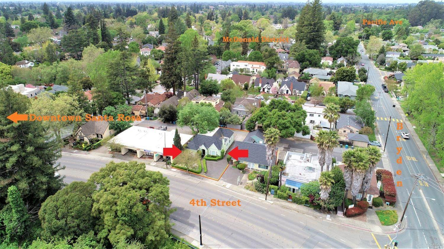 6. Commercial للـ Sale في 1815 4th Street Santa Rosa, California 95404 United States