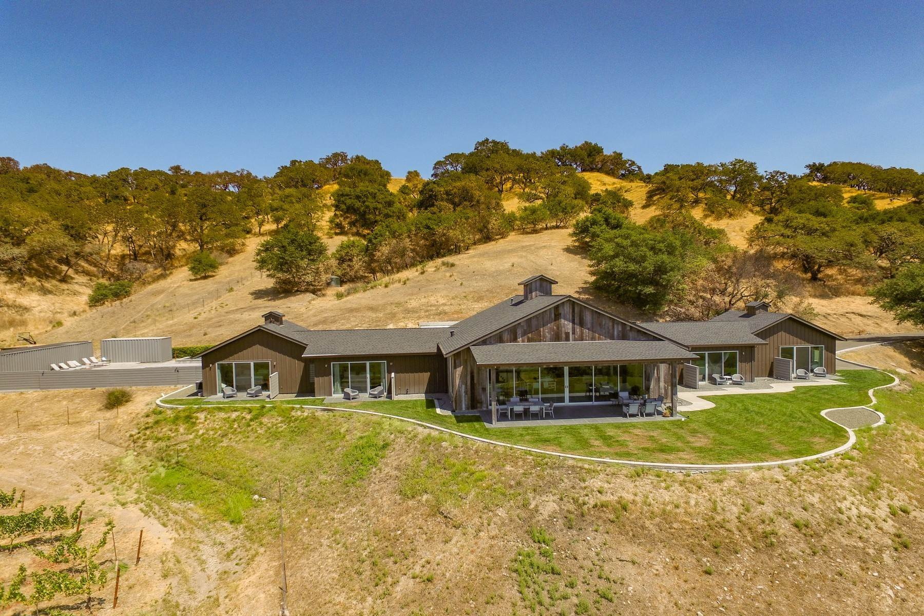 Vineyard Real Estate 용 매매 에 The Sonoma Ranch 6606 Faught Road Santa Rosa, 캘리포니아 95403 미국