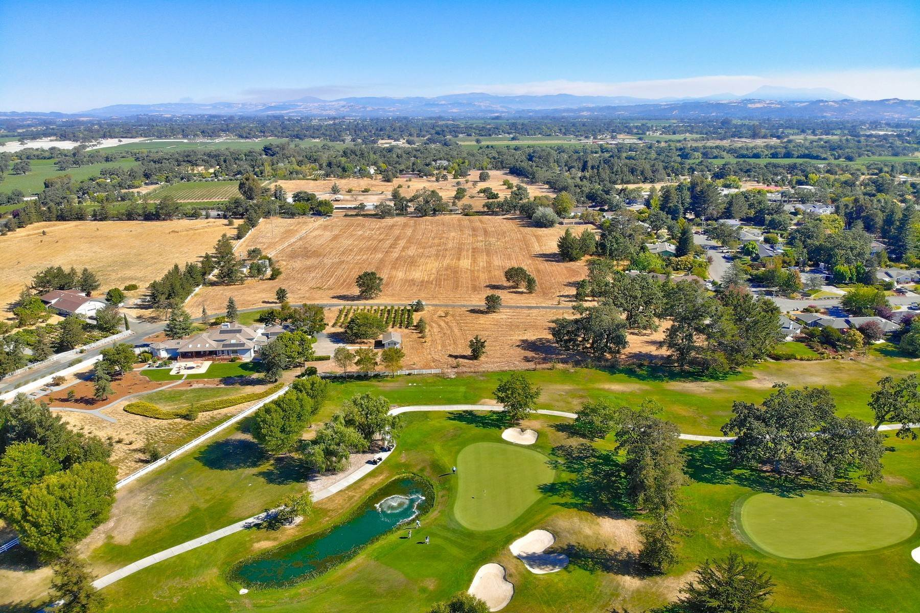 Property للـ Sale في Wine Country Golf Dream Estate Parcel 5350-5353 Oak Meadow Drive Santa Rosa, California 95401 United States